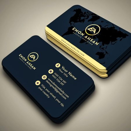 Foiled Business Card