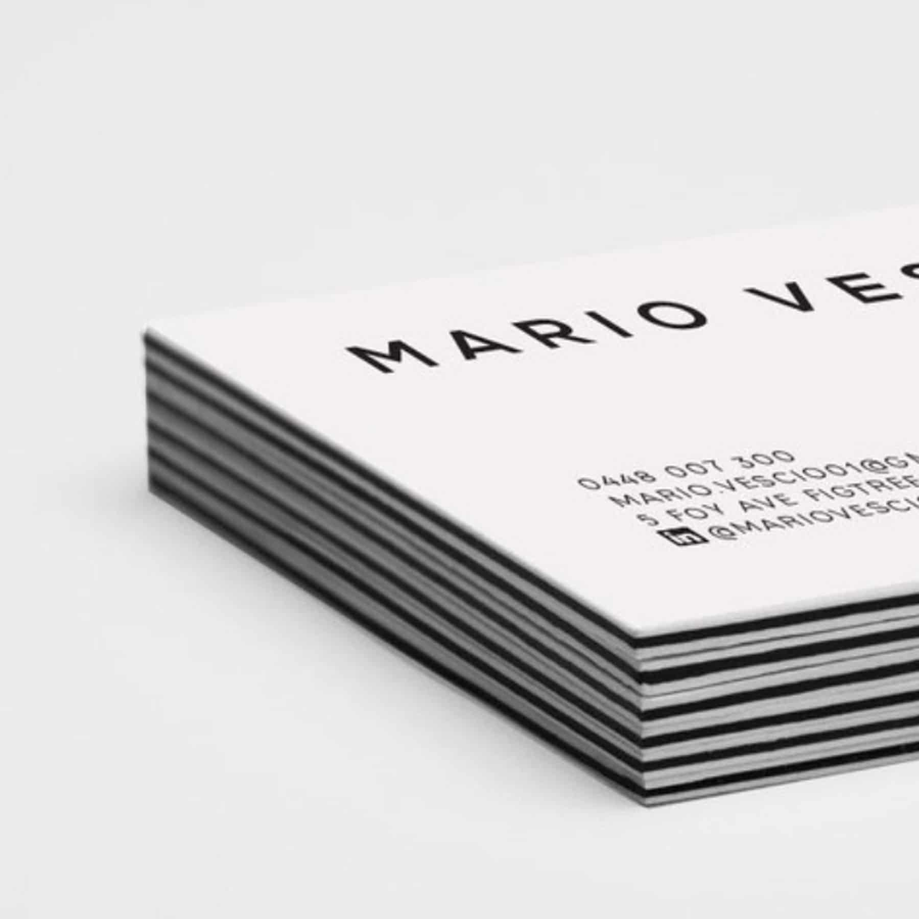 Sandwich Business Card